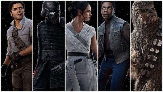 Star Wars IX: L'Ascesa di Skywalker, i personaggi