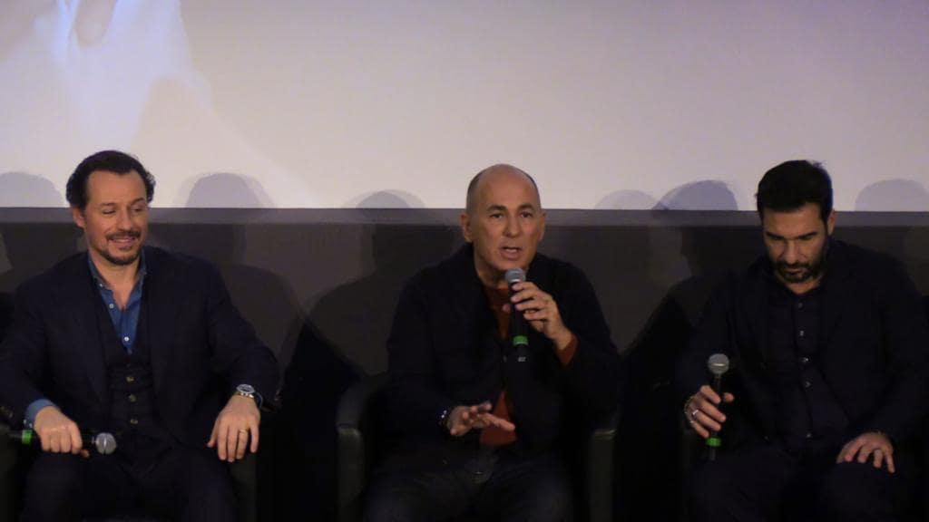 Edoardo Leo, Ferzan Ozpetek e Stefano Accorsi