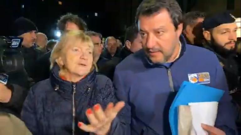 La donna che ha guidato Salvini al citofono: «Pensavo a un c