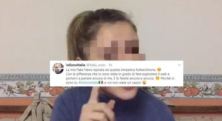 La giovane leghista che ha denunciato la finta aggressione d
