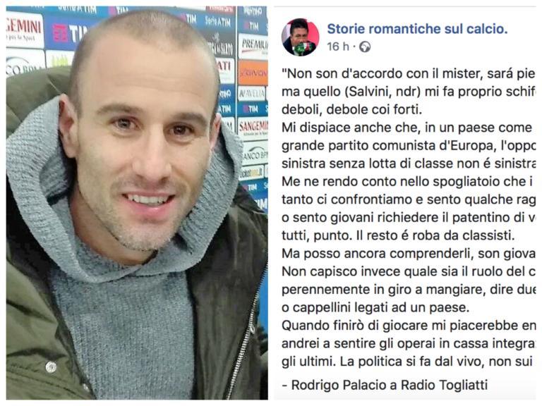 La clamorosa bufala di Palacio che chiama Salvini 'asino' e