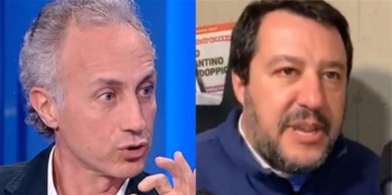 Travaglio propone la «giustizia citofonica» di Salvini anche