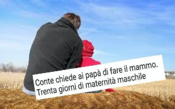 Per il quotidiano Il Tempo, il papà con un congedo parentale