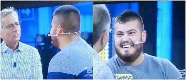 L'anatema in sardo lanciato contro Paolo Bonolis