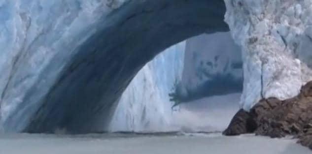 La bufala del video in diretta sullo scioglimento del ghiacc