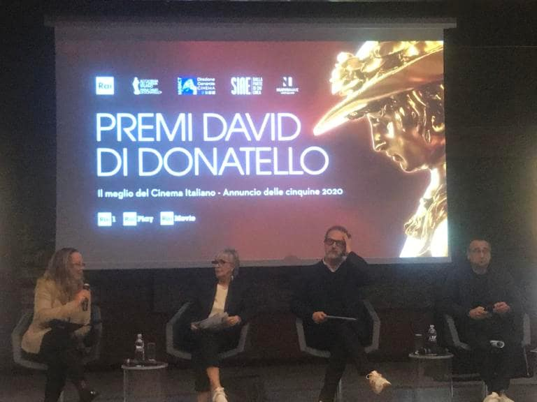 David di Donatello 2020, tutte le nomination. Cerimonia il 3
