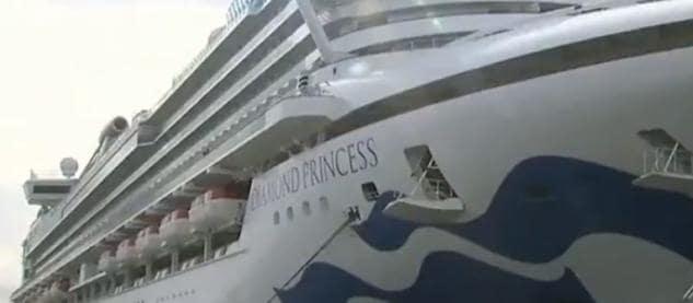 La Farnesina parla di un sospetto contagio da Covid-19 tra gli italiani a bordo della Diamond Princess