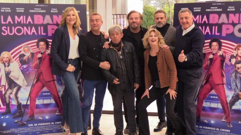 """Fausto Brizzi, Christian De Sica e il cast: """"Omaggio agli an"""
