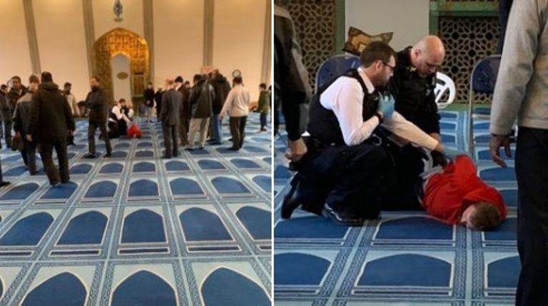 Un uomo è stato accoltellato in una moschea a Londra