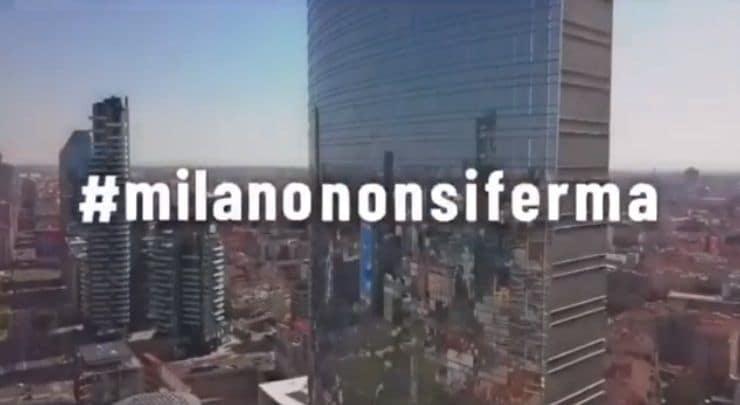 #MilanoNonSiFerma, lo spot della città che vuole ripartire |