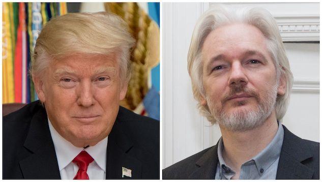 Donald Trump aveva offerto la grazia a Julian Assange a patt