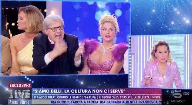 Vittorio Sgarbi bandito da tutte le trasmissioni Mediaset