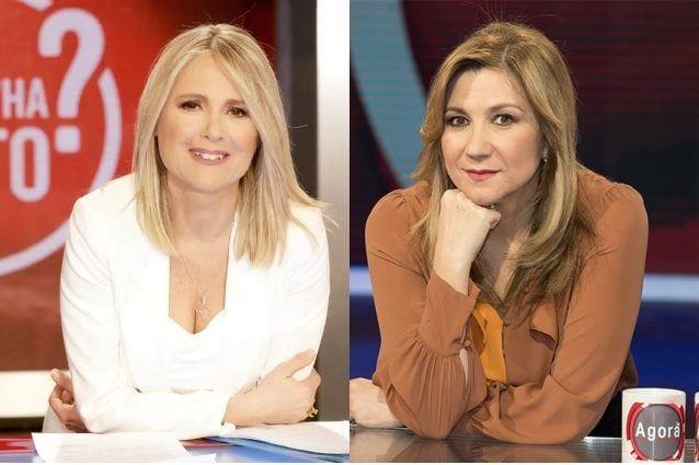 Federica Sciarelli e Serena Bortone