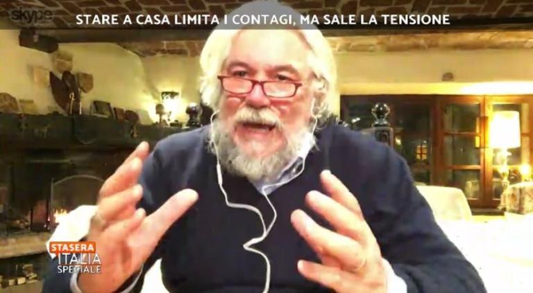 Meluzzi e il complotto dell'idrossiclorochina non pubblicizzata perché costa poco: «Funziona, me l'hanno detto gli amici russi»