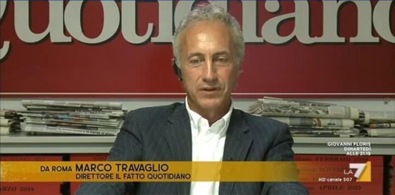 Marco Travaglio chiede che il Partito Popolare cacci a «calc