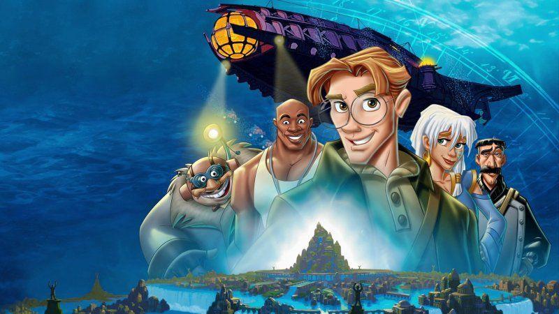atlantis Disney+