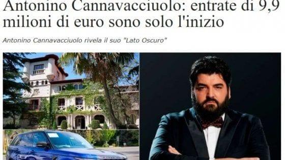 No, Antonino Cannavacciuolo non ha mai detto di esser diventato ricco grazie ai bit coin
