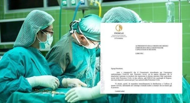 Le 600mila mascherine distribuite ai medici dalla Protezione