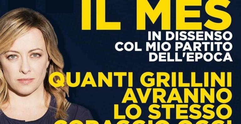 La vera storia di Giorgia Meloni e il voto al Mes