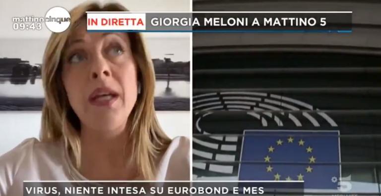 Giorgia Meloni cita Fabrizio De André parlando del «Mes light»