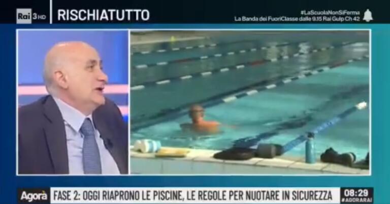 Ippolito (Spallanzani):«Per sanificare palestre e piscine b