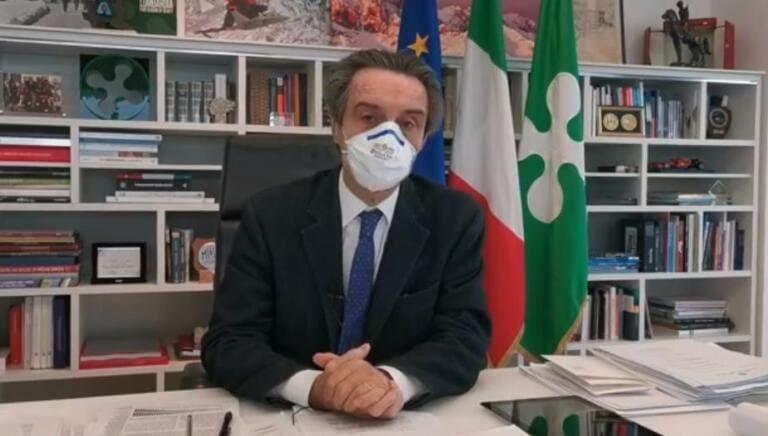 Fontana dice che il dato dei zero morti in Lombardia è «da prendere con le pinze»