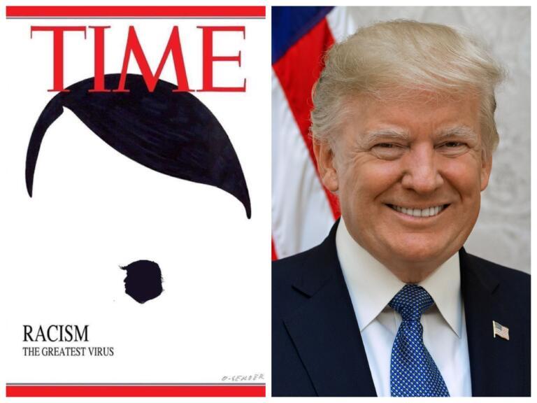 Quella di Hitler con il baffetto che disegna il profilo di T