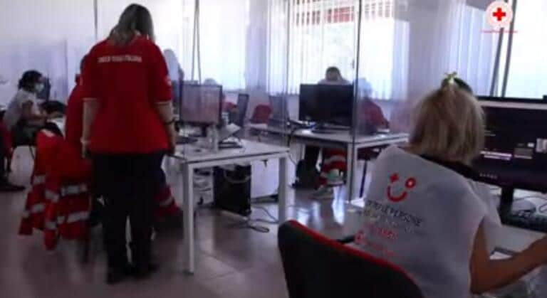Bassa adesione all'indagine sierologica |  la Croce Rossa |  «Non siamo stalker |  è importante che diciate sì»