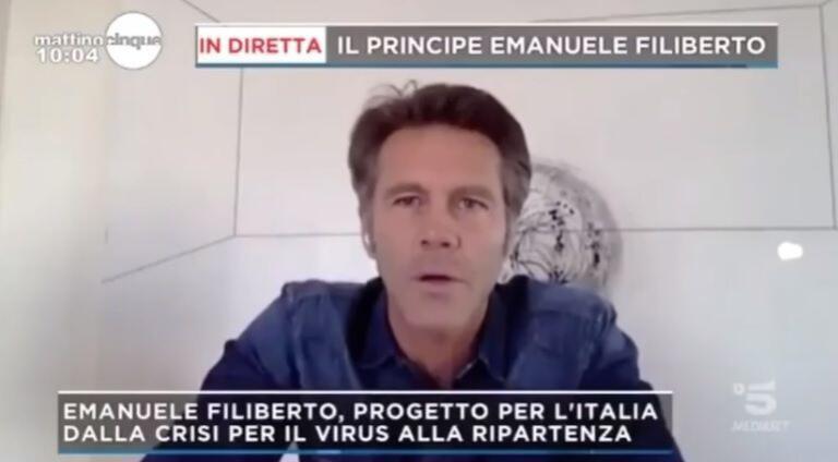 Emanuele Filiberto si dà alla politica: «La tv mi ha insegna