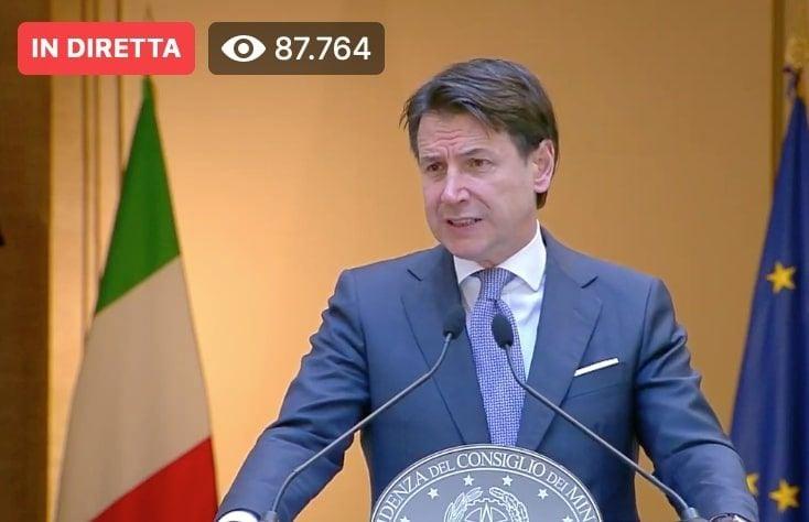 Giuseppe Conte: «Nessun pregiudizio sul Ponte sullo Stretto»
