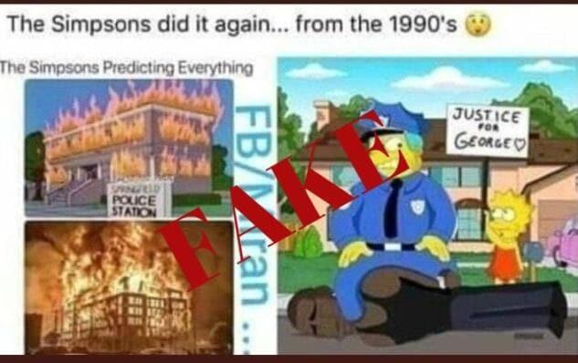 Non è vero che i Simpson avevano 'predetto' l'uccisione di G