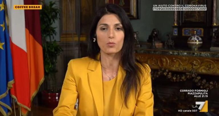 """Virginia Raggi: """"Una fortuna non avere le Olimpiadi a Roma:"""