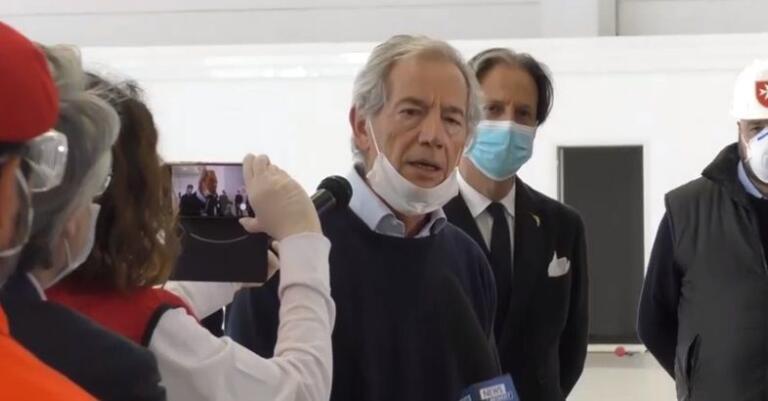 Bis Fiera Milano: chiude stasera il Covid Hospital di Civita