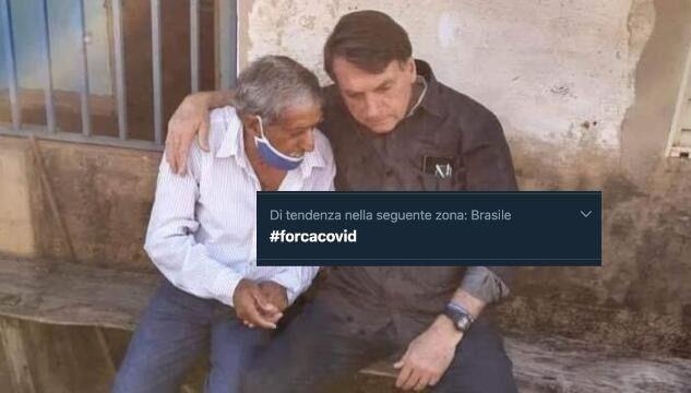 In Brasile i social fanno il tifo per il Coronavirus contro