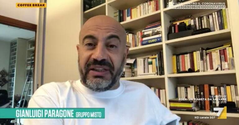 Paragone ricorda a Di Maio    «Hai chiesto ai Benetton di salvare Alitalia»   VIDEO