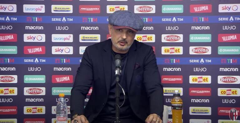 Mihajlovic |  «Meno male che Bonaccini ha riaperto gli stadi |  non pare neanche di sinistra»