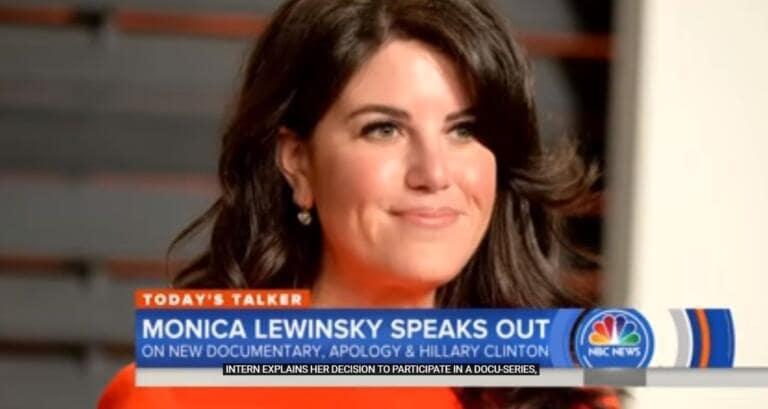 La clamorosa risposta di Monica Lewinsky a chi consiglia di
