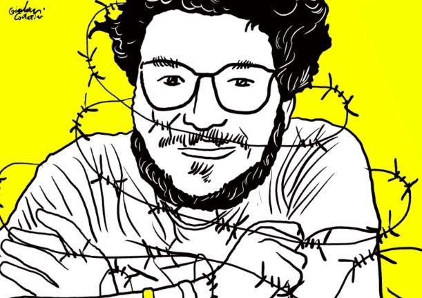 Il giornalista ingiustamente detenuto nello stesso carcere d