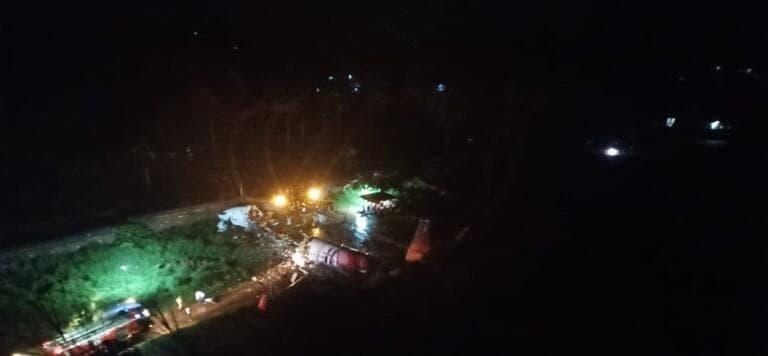 Air India si schianta a Karipur: c'erano 191 persone a bordo