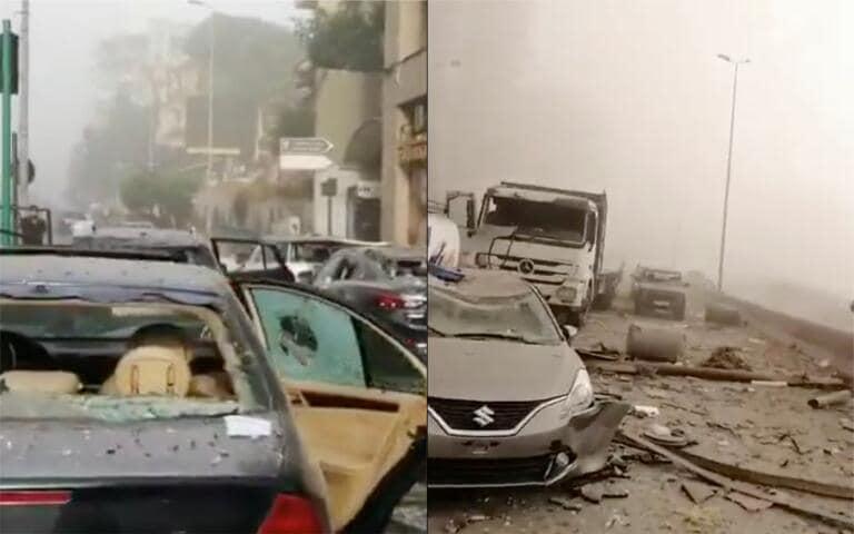Esplosione a Beirut, almeno 25 morti e 2500 feriti (tra cui anche un soldato italiano) | VIDEO