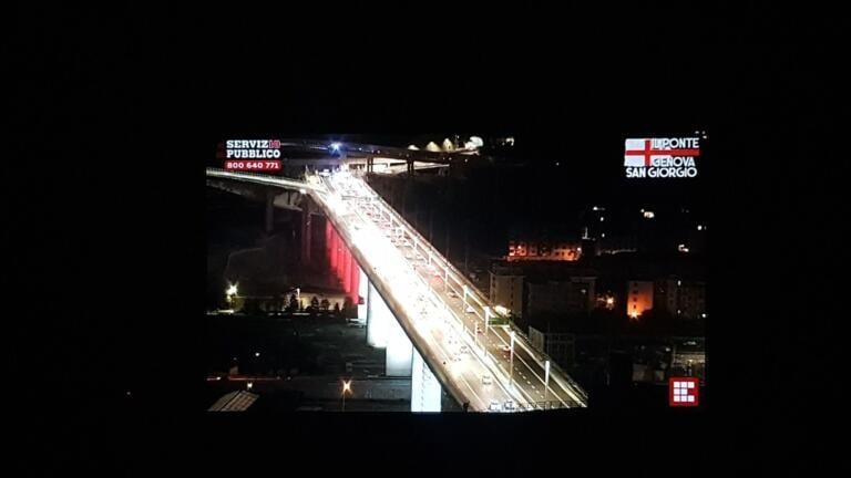 Il nuovo ponte di Genova San Giorgio è aperto al traffico