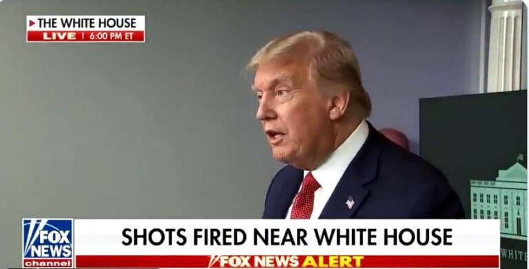 Sparatoria alla Casa Bianca, Trump sospende la conferenza stampa