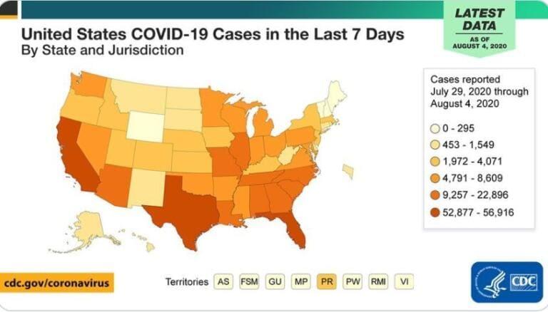 Stati Uniti, a dicembre i morti di Covid potrebbero essere 300mila