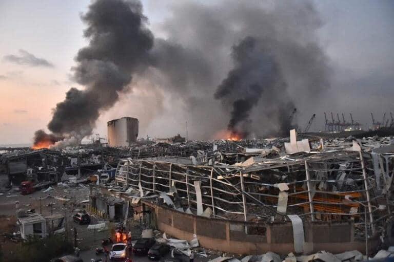 Esplosione a Beirut: Il bilancio sale a 78 morti e almeno 4000 feriti