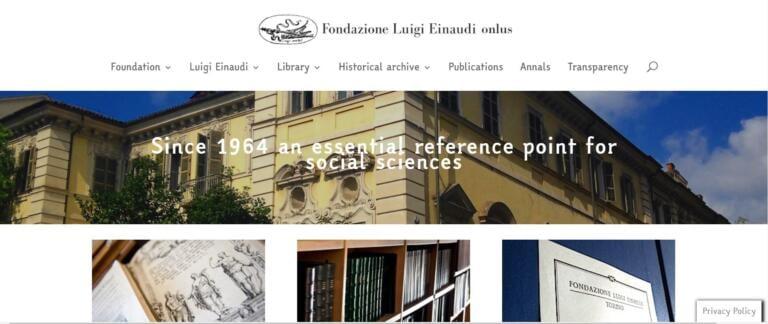 Verbali Cts, la Fondazione Einaudi pubblica i documenti desecretati