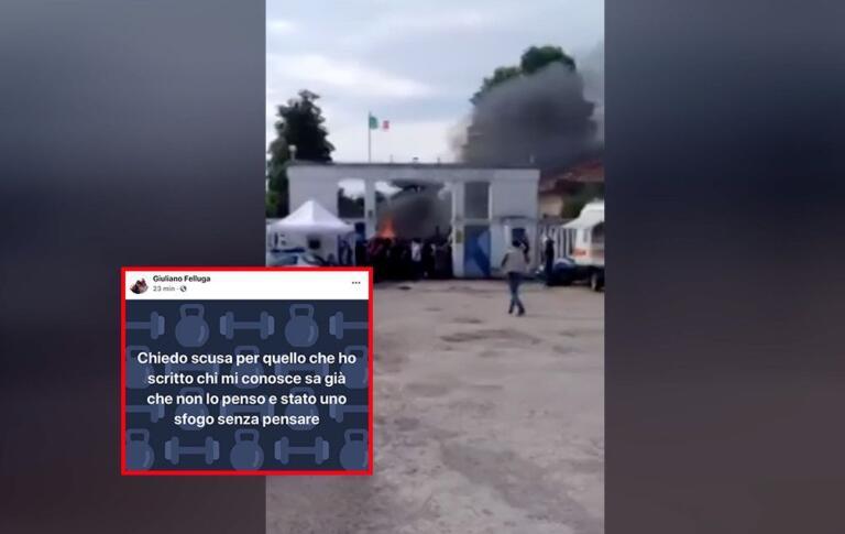 Il responsabile della Protezione Civile di Grado sui migranti a Udine: «Squadroni della morte e forni crematori»