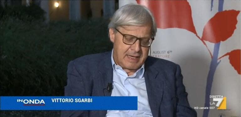 """Sgarbi show a In Onda: """"Bonus Covid ai parlamentari? Colpa del governo"""""""