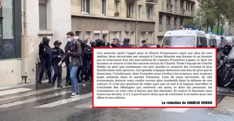 Charlie Hebdo sull'attacco a Parigi: «Chi lo ha fatto non è altro che un fascista»