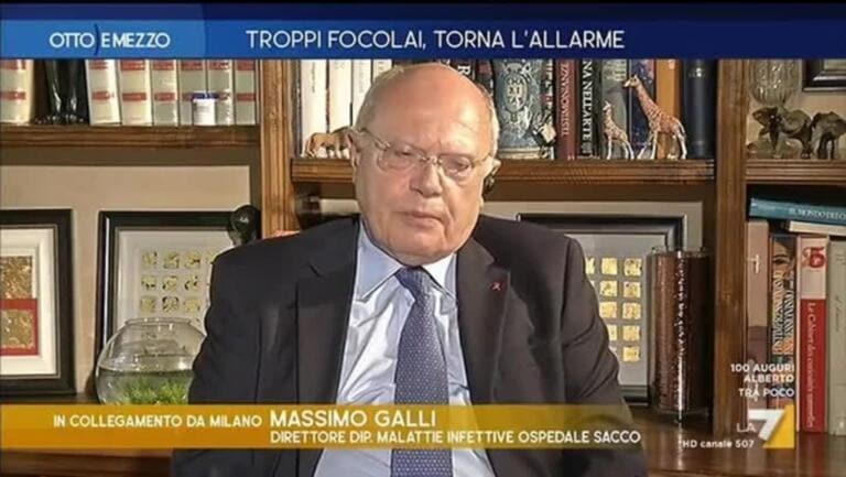 Massimo Galli e le perplessità sui calciatori positivi del Genoa