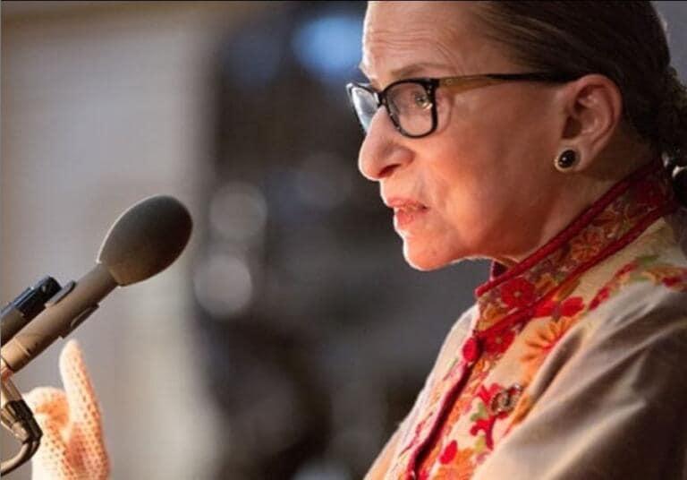 Ruth Bader Ginsburg, camera ardente a Capitol Hill: è la prima volta per una donna